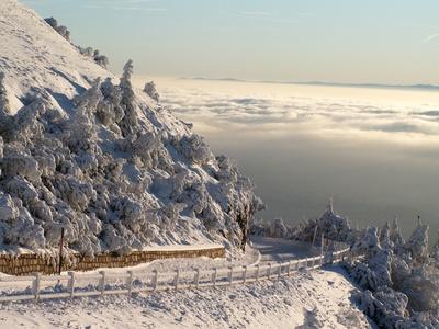 Vue depuis le Puy de Dôme - Roi des volcans